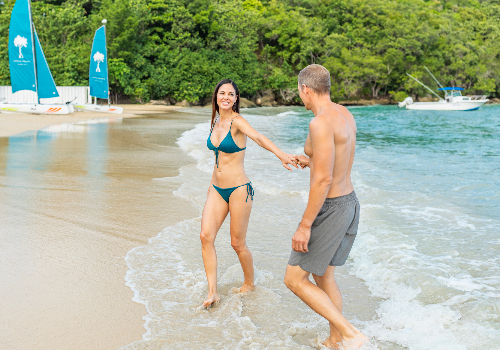 Arial View of Couples Sans Souci resort